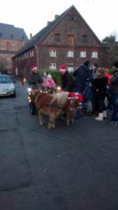 der Nikolaus mit seiner Kutsche, Bild aus 2016